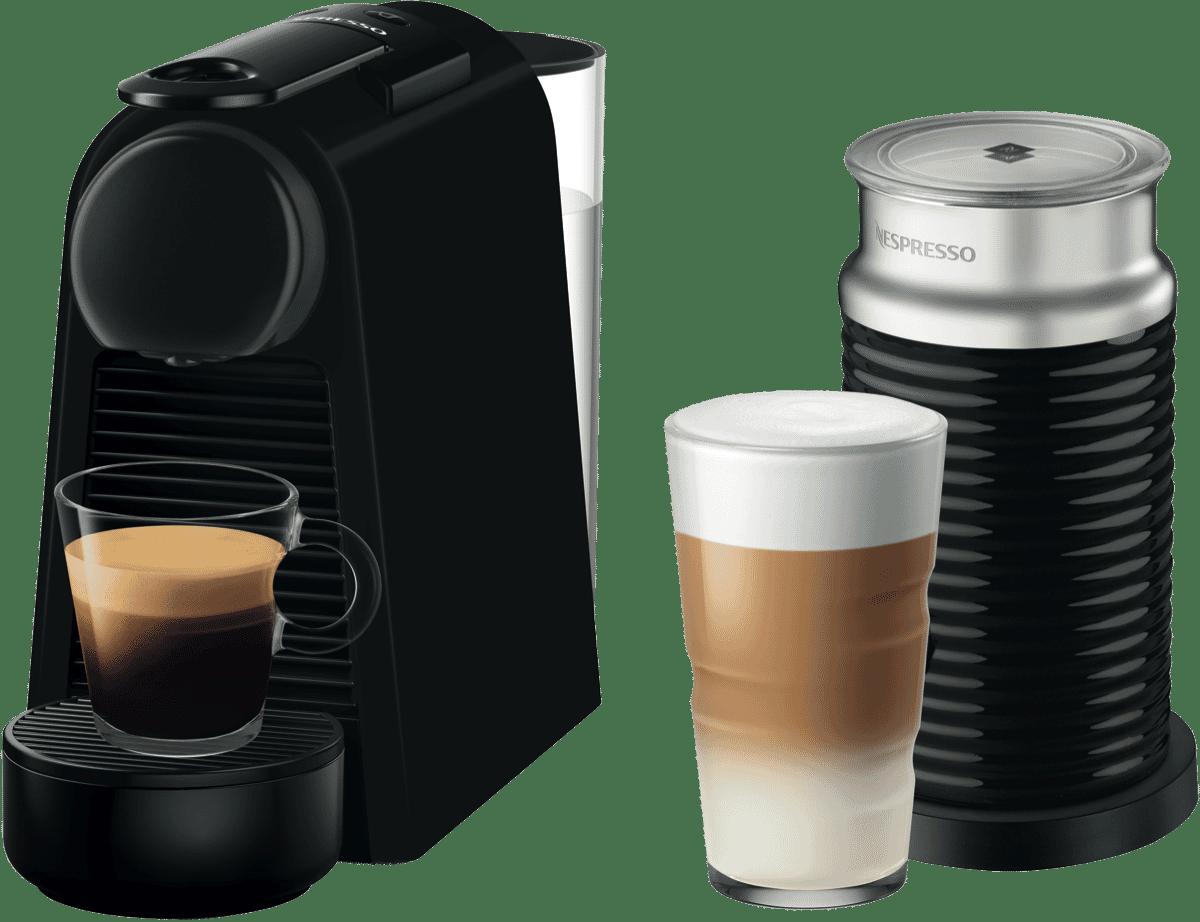 Image of NespressoEssenza Mini & Milk - Matte Black