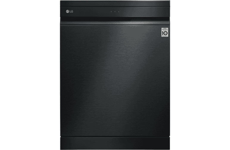 LG XD3A25MB QuadWash Matte Black TrueSteam Dishwasher at The Good Guys