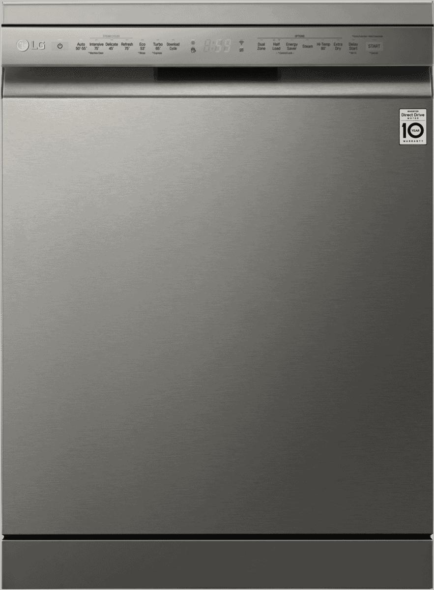 Image of LGQuadWash Platinum Steel TrueSteam Dishwasher