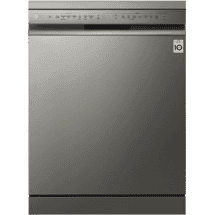 LGQuadWash Platinum Steel TrueSteam Dishwasher50065234