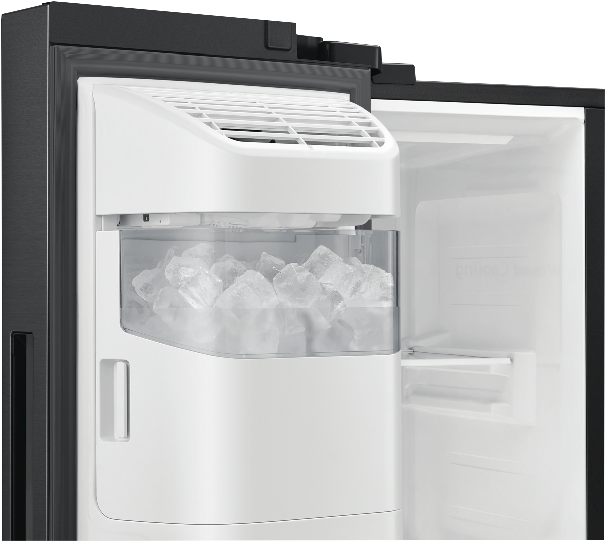 Samsung Srs673dmb 676l Side By Side Refrigerator At The