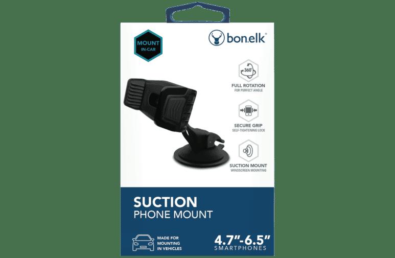 Bonelk ELK-70402-R Suction Mount Smart Phone Holder at The Good Guys