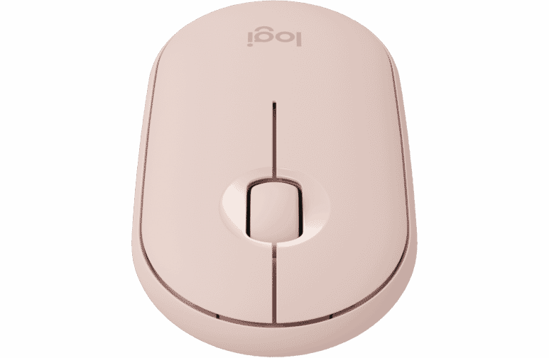 Logitech 4501034 Pebble Compact Wireless Mouse - Rose at The Good Guys