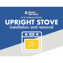 SERVICESElectric Upright Stove Up To 600mm Install and Removal of Old50066364