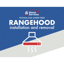 SERVICESFixed Rangehood Up To 900mm Install and Removal of Old50066392