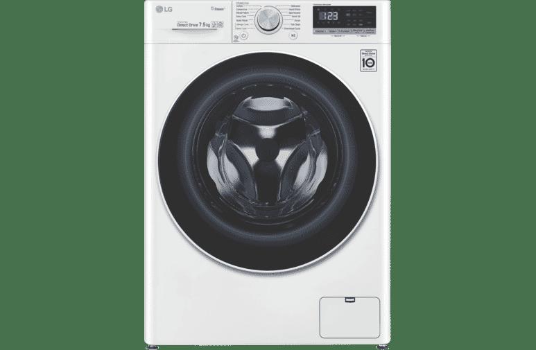 LG 7.5kg Front Load Washer  WV5-1275W