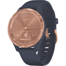 GarminVivomove 3S Watch Sml (Rose Gold-Navy)50067847