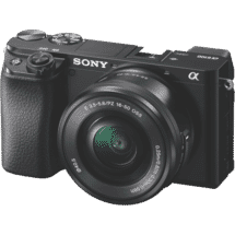 SonyAlpha 6100 Body with 1650 Lens Black50068203