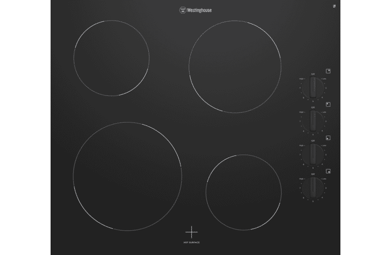 Westinghouse Whc642bc 60cm Ceramic Cooktop Black At The Good Guys