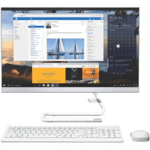 "LenovoA340 23.8"" Core i3 8GB 1TB AIO White50069093"