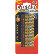 EvereadyGold AA 20 Pack50070246