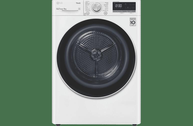 LG 8kg Heat Pump Dryer  DVH5-08W