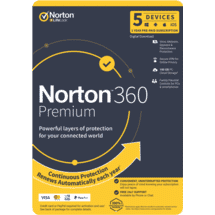 Norton360 Premium Internet Security 5D 12M ESD50070420