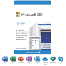 Microsoft365 Family 12 Months (ESD)50070703