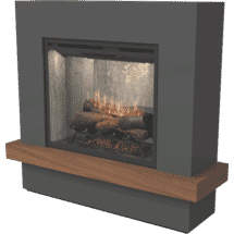Dimplex2kW Sherwood Mantle Electric Fireplace50071694