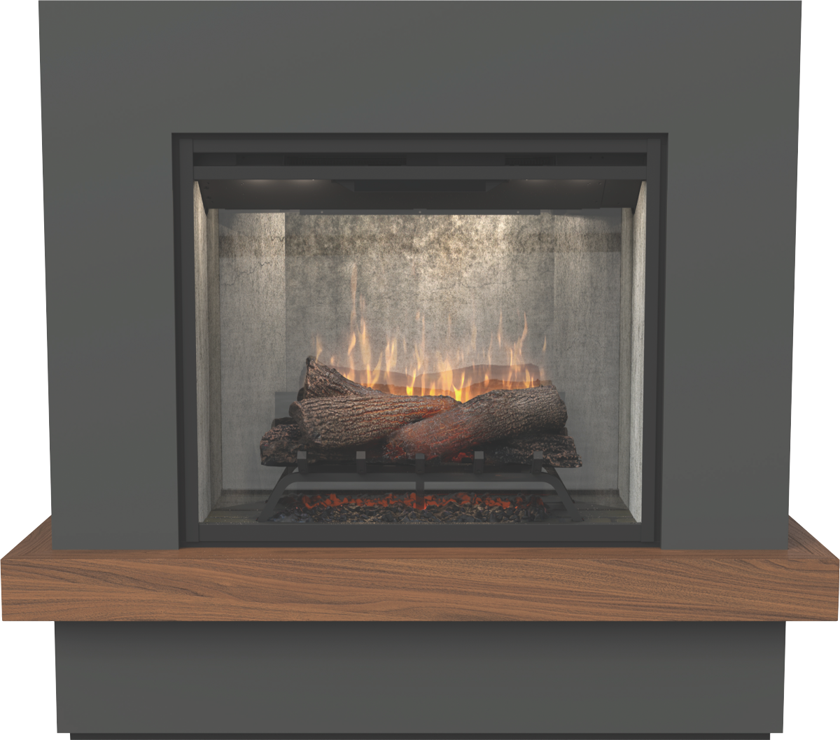 Dimplex SWD20-AU 2kW Sherwood Mantle Electric Fireplace at ...