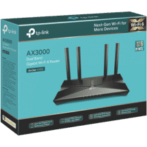 TP-LINKAX3000 Dual Band Wi-Fi 6 Router50072471