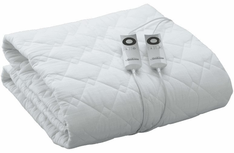 Sunbeam Blq5451 Sleep Perfect Fitted, Sunbeam Sleep Perfect Quilted Electric Blanket Queen Bed Review