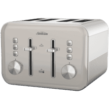 SunbeamSimply Shine Cream 4 Slice Toaster50074675