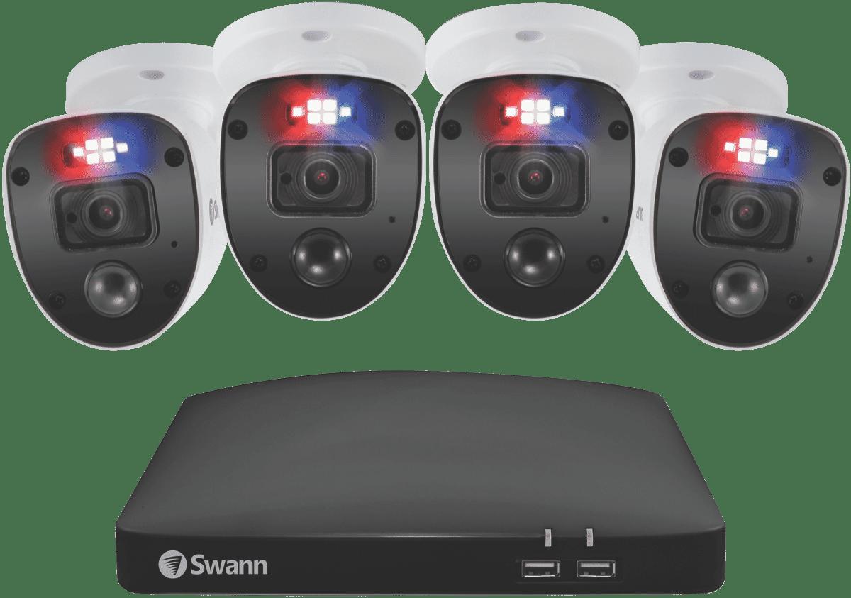 Image of Swann4 Camera 1080p 1TB HDD DVR Enforcer Kit