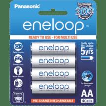 Eneloop AA Rechargeable Batteries 4 Pack